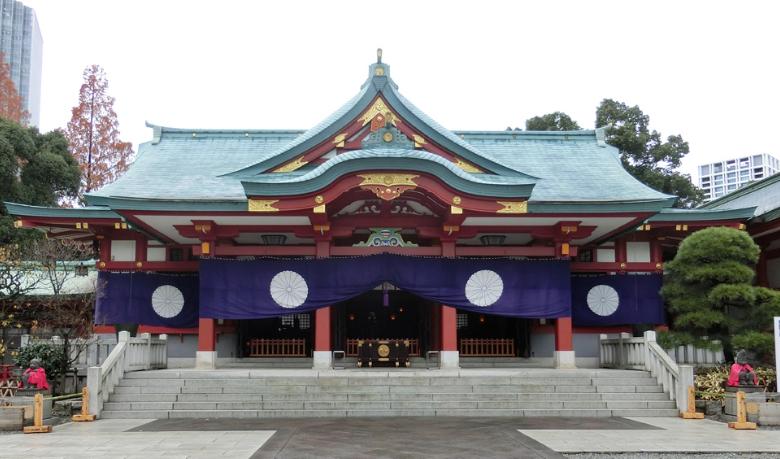 日枝神社初詣2018
