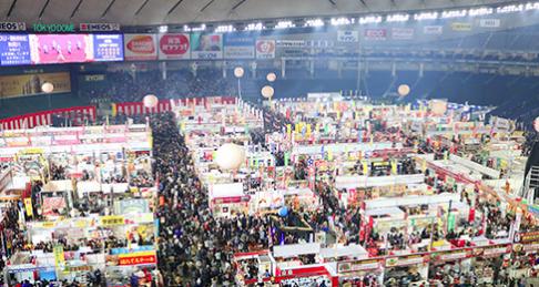 ふるさと祭り東京2018混雑状況