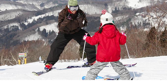 スキー子供・初心者デビュー