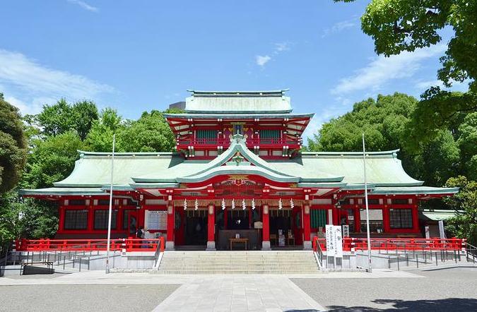 富岡八幡宮初詣2018
