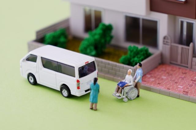 介護施設イメージ 来るスマ美容師