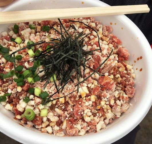 まんパク2018牛トロ丼