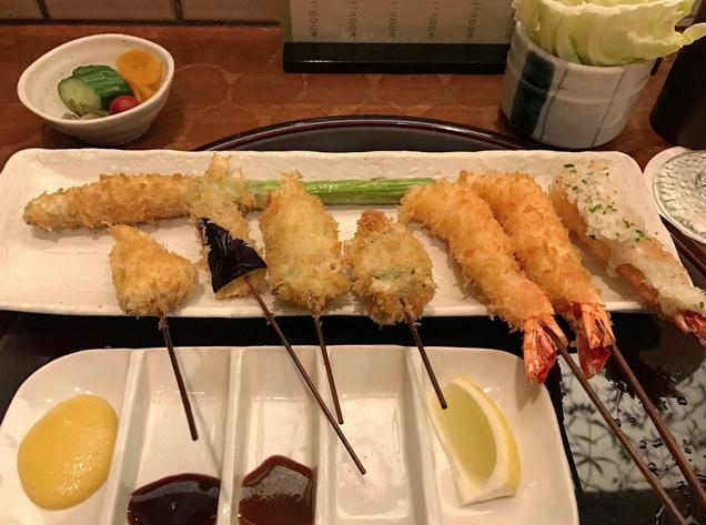串揚げ 新宿立吉 日比谷店 東京ミッドタウン日比谷のおすすめレストラン&グルメ