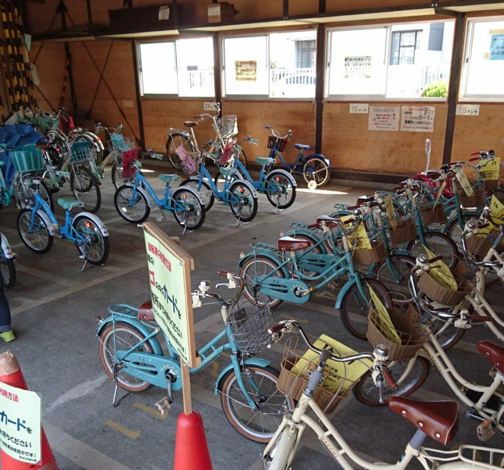 東浅川交通公園の自転車練習