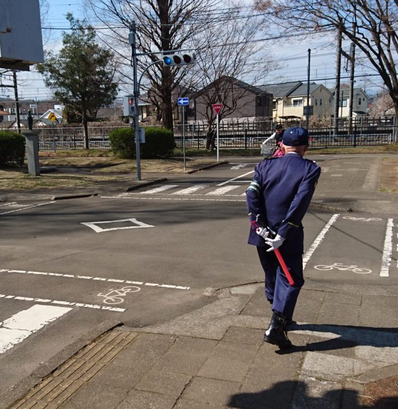 東浅川交通公園の自転車練習場