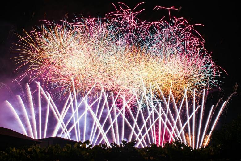 笛吹市夏祭り 石和温泉花火大会2020 山梨県の花火大会