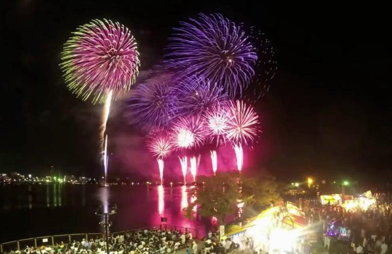 水戸黄門まつり花火大会2020 関東の花火大会