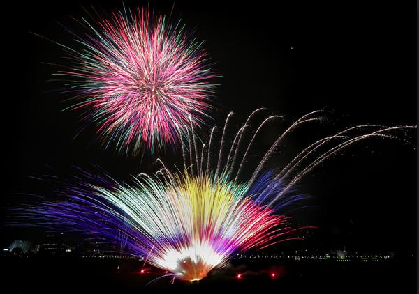 川崎市制記念多摩川花火大会2018
