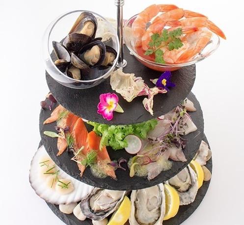 Seafood Platter魚介盛り合わせEMIT FISHBAR(エミット フィッシュバー)銀座シックスおすすめグルメ
