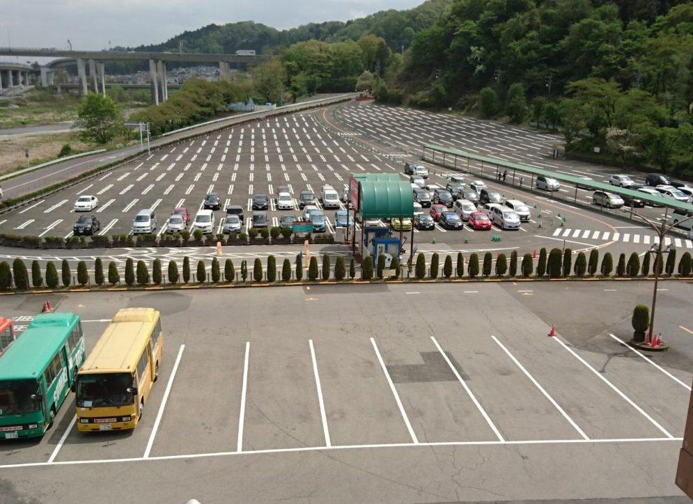 駐車場混雑状況 ONE-PARK〜ふわふわアスレチック〜 サマーランド