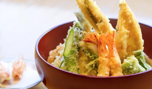 特製天丼『豪麓』ごうろく天ぷら山の上 銀座シックスおすすめランチ