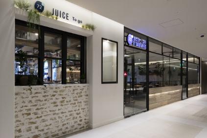 72 Degrees Juicery + Café by David Myers(72°ジューサリー+カフェ バイ デイビット マイヤーズ)銀座シックス おすすめグルメ