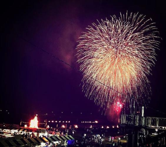 南部の火祭り2020 山梨県の花火大会