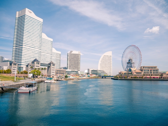 横浜の海 みなと横浜ゆかた祭り