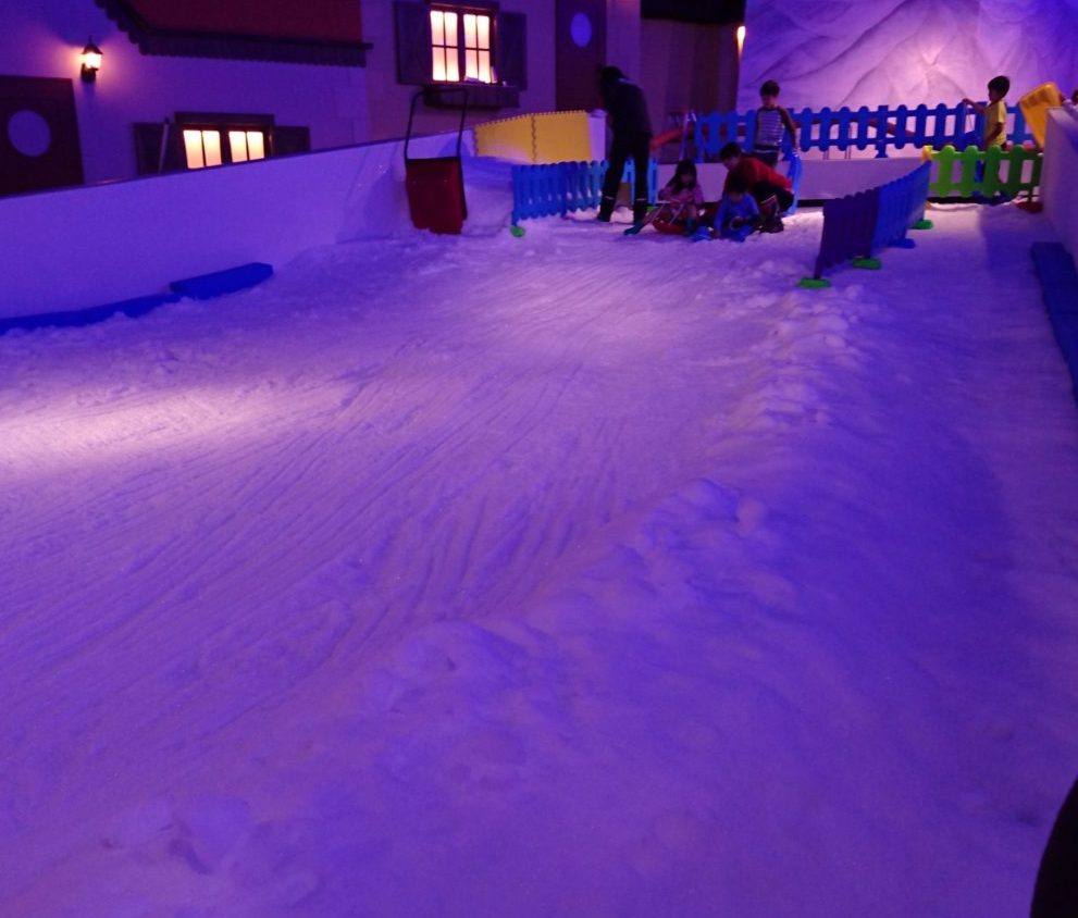 そり遊び スノータウン(SNOW TOWN)|東京あそびマーレ