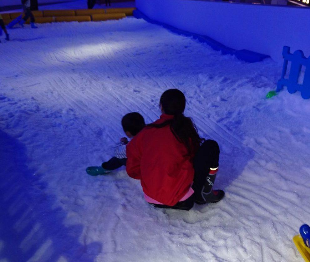 そり滑り スノータウン(SNOW TOWN)|東京あそびマーレ