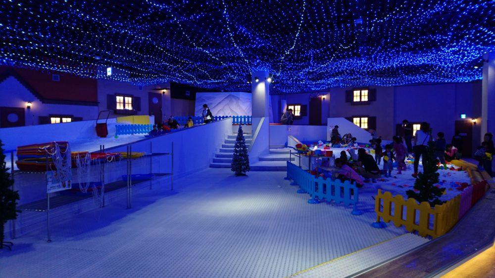 東京あそびマーレ snow town