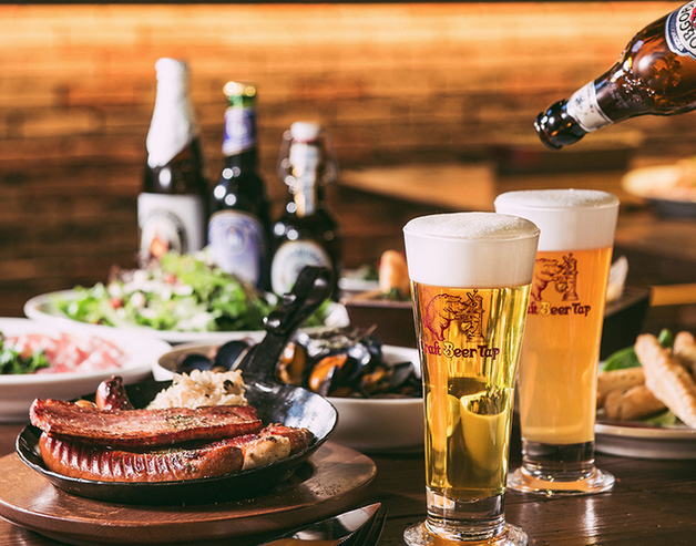 クラフトビールタップ 渋谷ストリーム レストラン ランチ ディナー