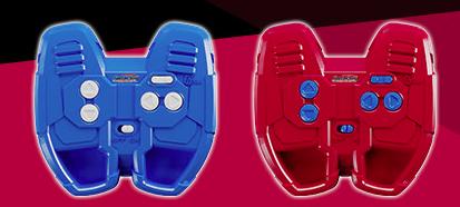 コントローラー サッカーボーグ タカラトミーのサッカー玩具