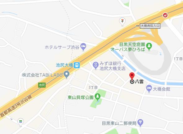 アクセスマップ 八雲 関東 ラーメン ランキング