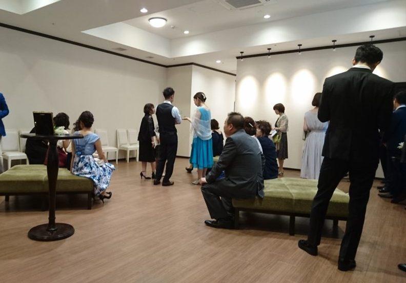 控え室|カサ・デ・アンジェラ青山(Casad' Angela Aoyama)