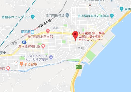 アクセスマップ|らぁ麺屋 飯田商店 関東 ラーメン ランキング