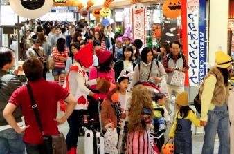 混雑状況|東京スカイツリータウンのハロウィンイベント