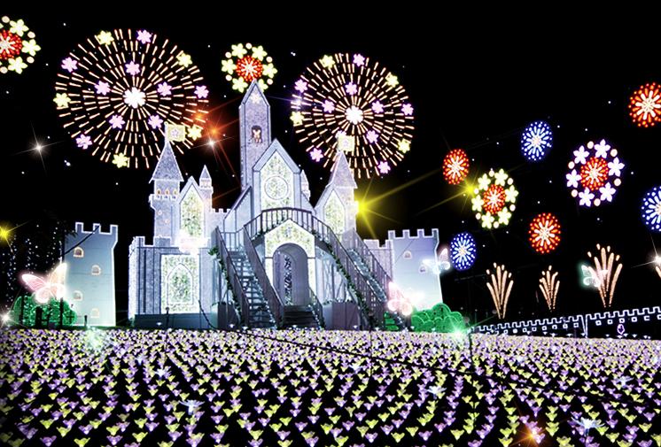あしかがフラワーパーク 【イルミネーション2018-2019】東京・関東のおすすめスポット