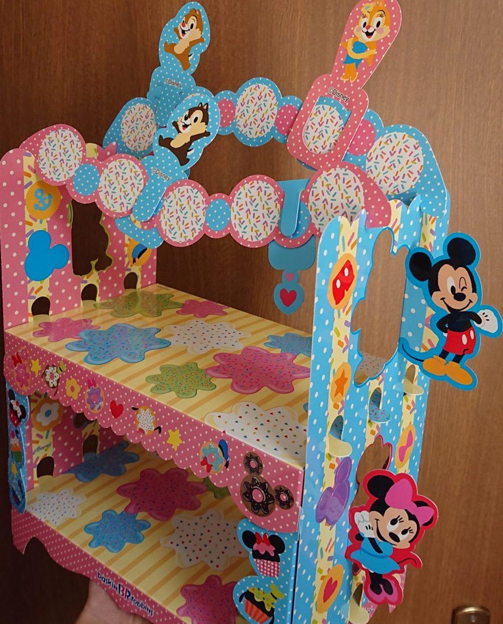 完成図 「ミッキー&フレンズ」アイスクリームパーティーセット