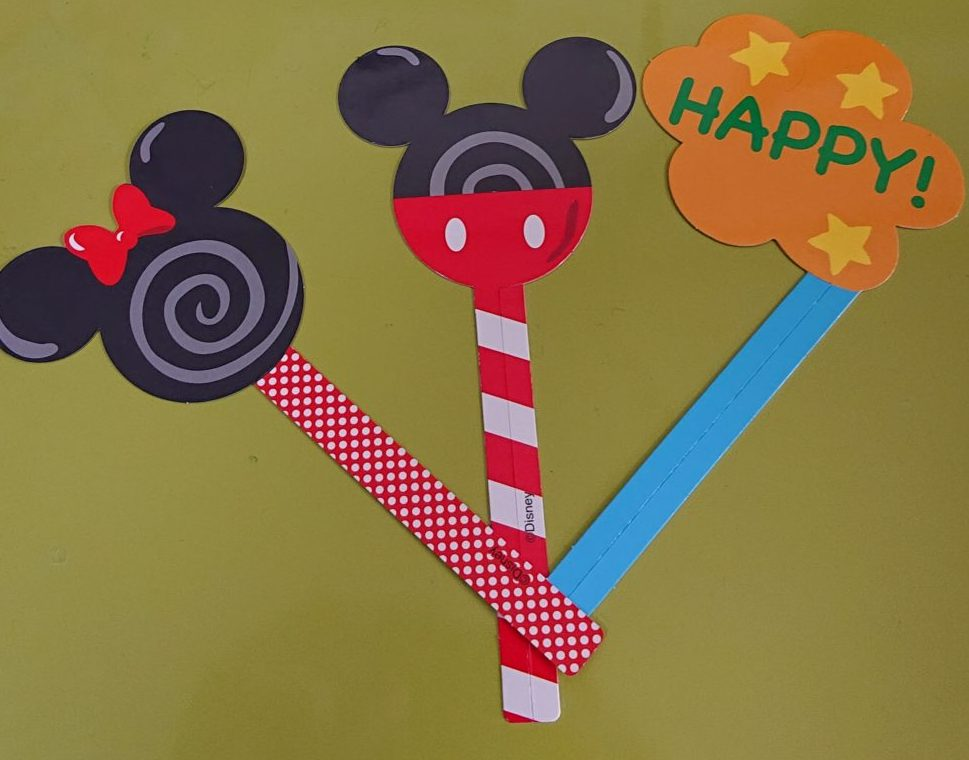 フォトプロップス  「ミッキー&フレンズ」アイスクリームパーティーセット