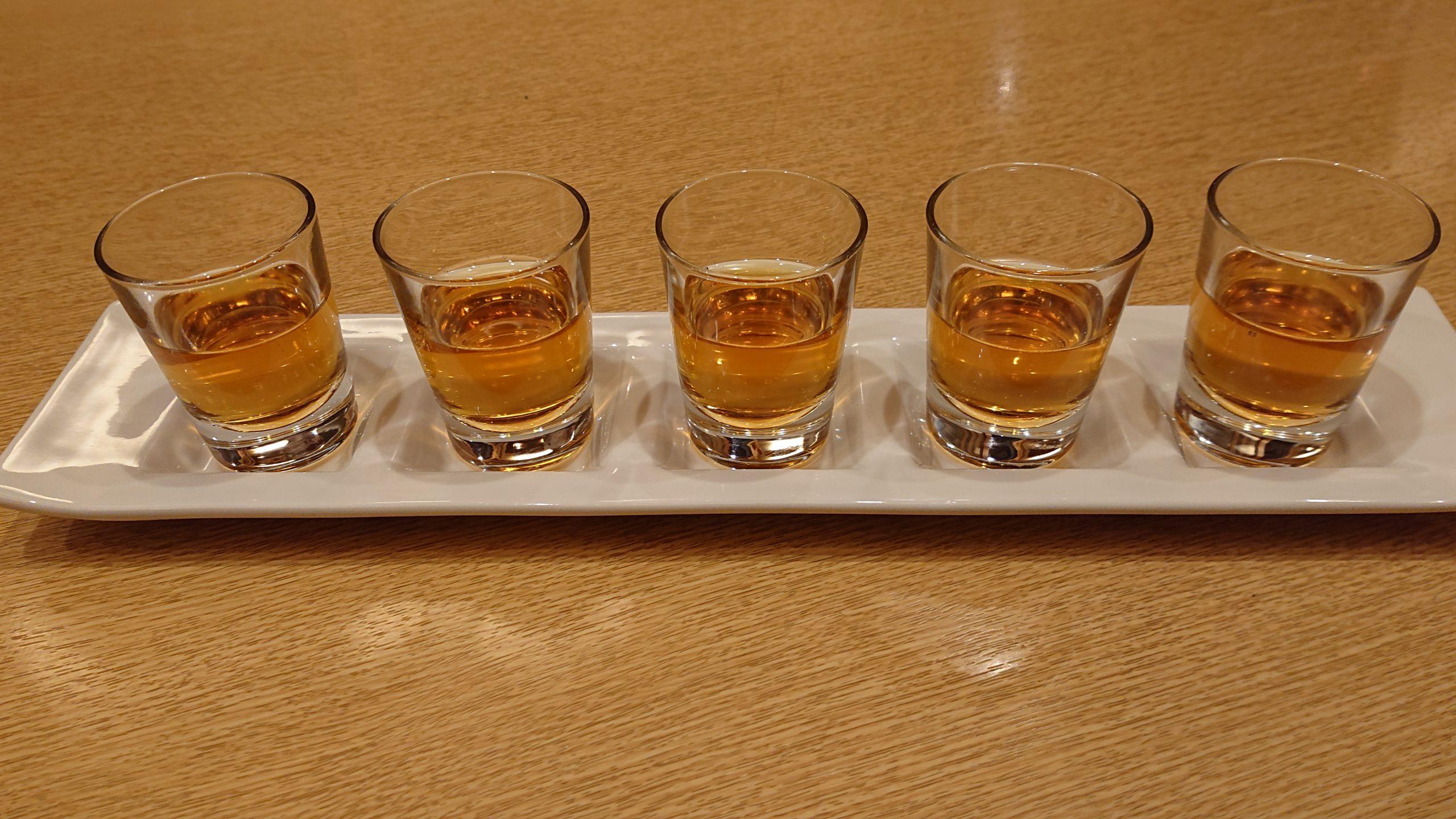 ウーロン茶かウイスキーか当てよう 明大前の居酒屋記念日サプライズ