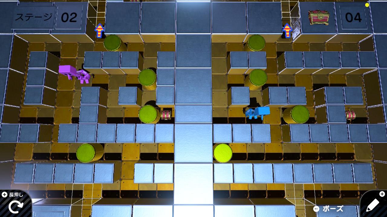 アクション系パズルゲーム 公開ID集 おすすめ Switchプログラミングゲーム